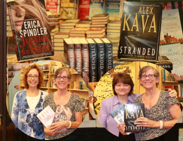 Erica Spindler, Alex Kava and Me by Sherry Fundin