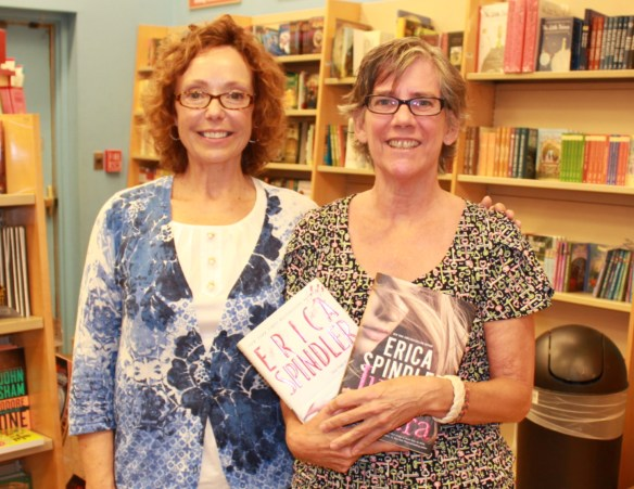 Erica Spindler and Me by Sherry Fundin