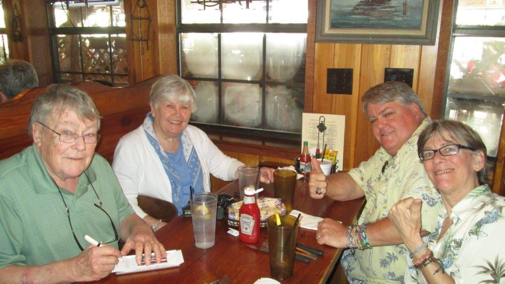 Dinner with in-laws at Peg Leg Pete's by Sherry Fundin