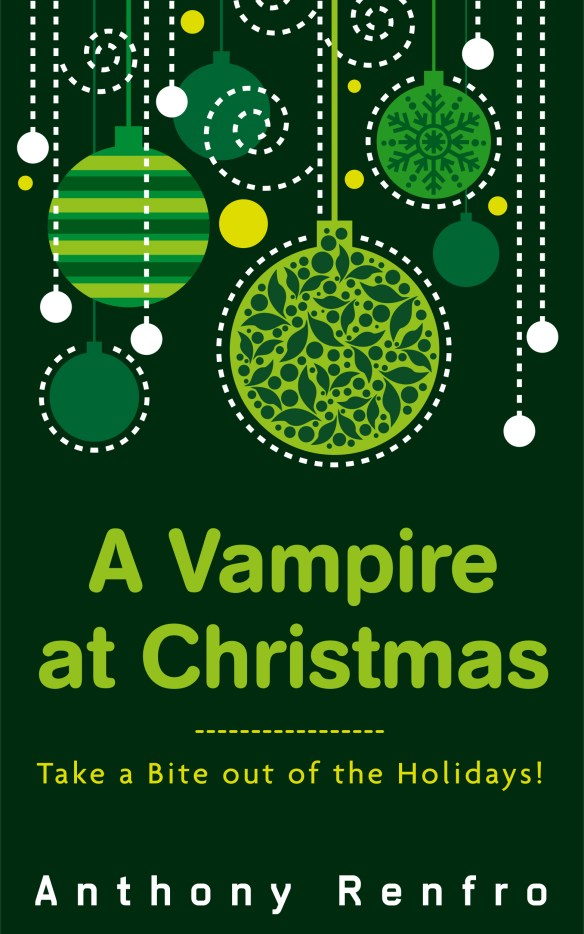 Vampire at Christmas - High Resolution