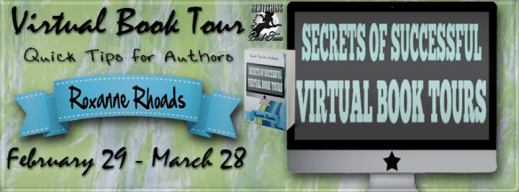 Secrets of Successful Virtual Book Tour Banner 851 x 315