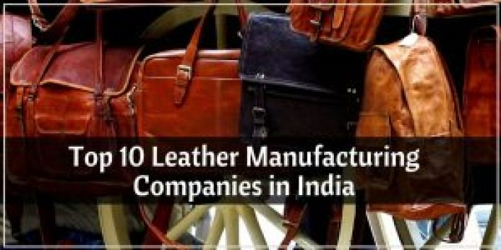 top 10 leather manufacturing companies in india