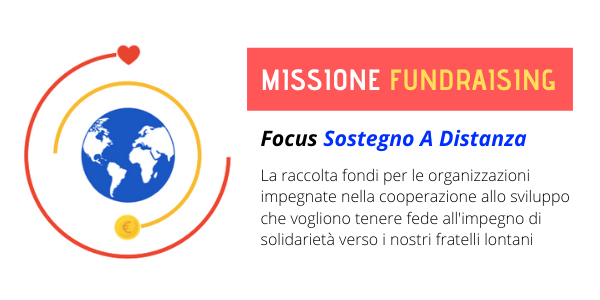 missione fundraising banner