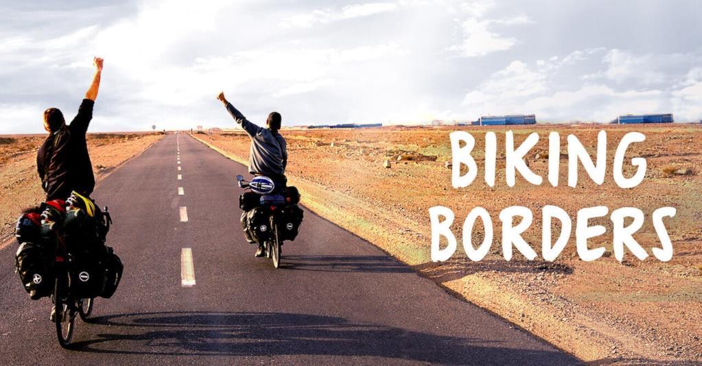 biking borders fundraising km zero raccolta fondi film