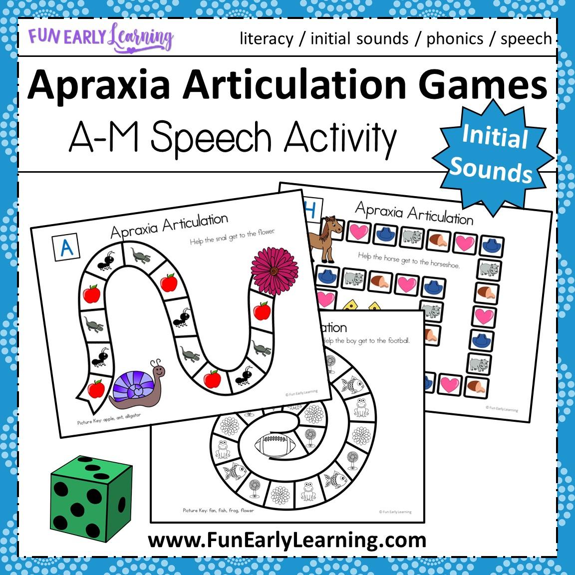 Preschool Articulation Activities
