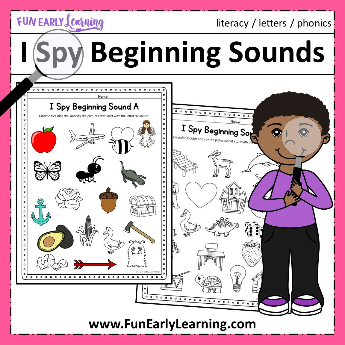 Teach Child How To Read Fun Phonics Games For Kindergarten