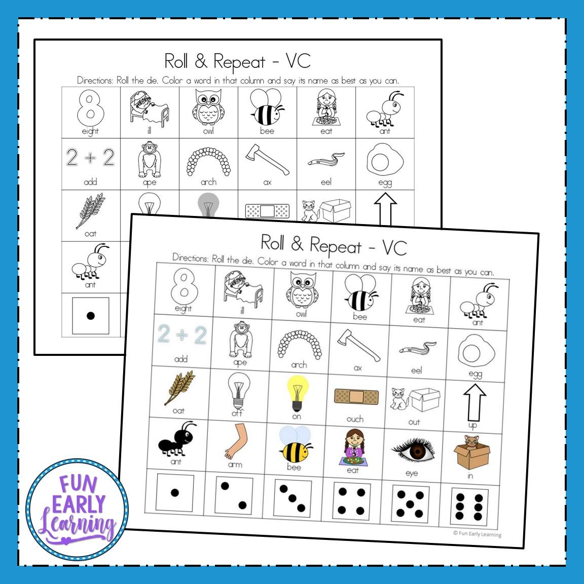Vowels Worksheet For Nursery
