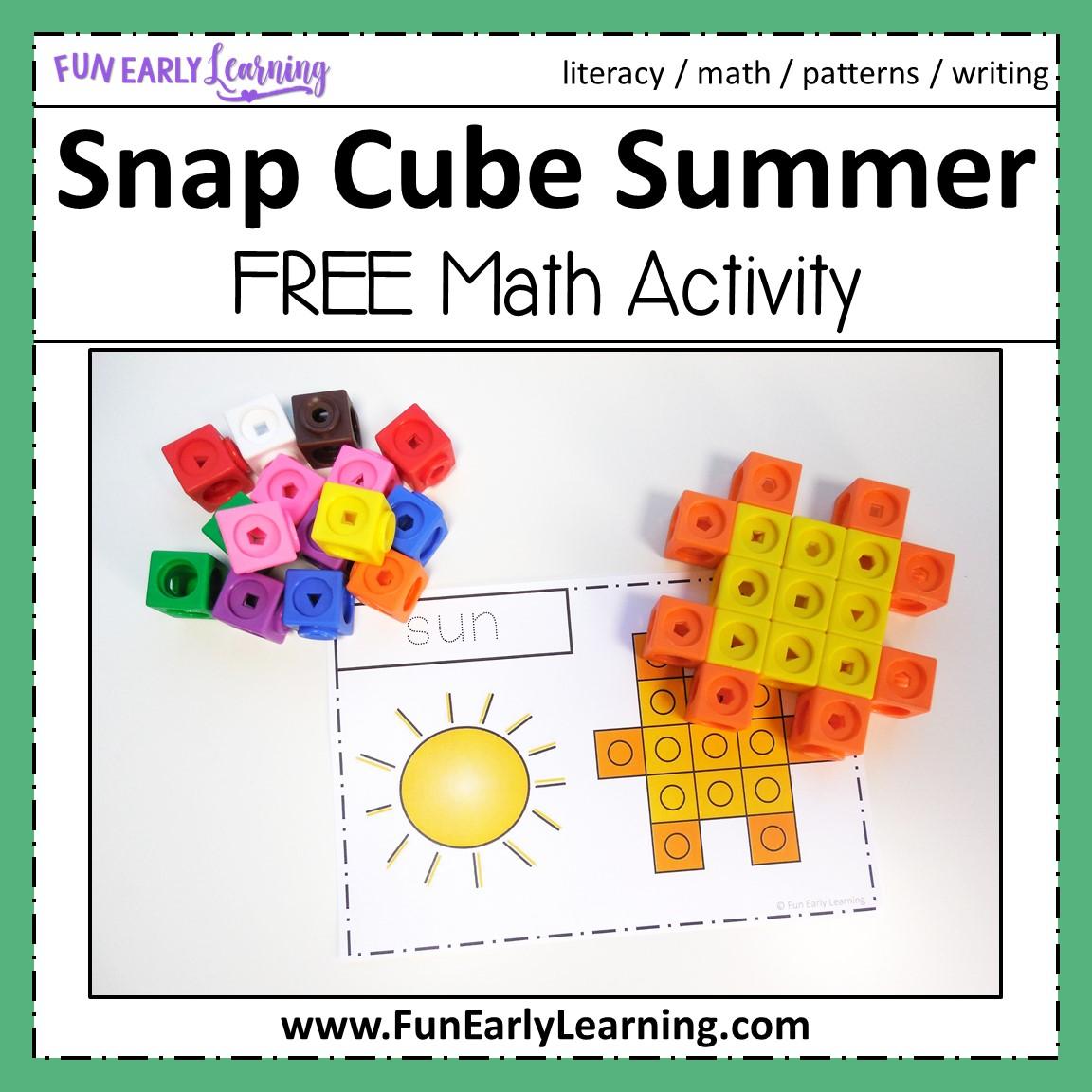 Snap Cube Summer