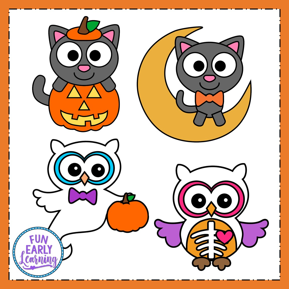 Halloween Crafts And Writing Activities Bundle For