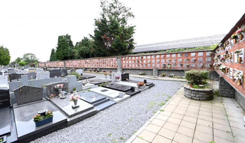 cimetière saturé Belgique