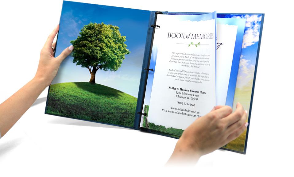 FuneralOne Tribute Book