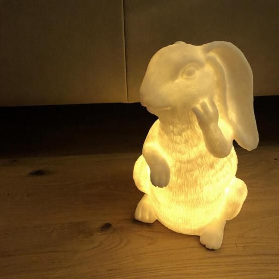 konijn lamp