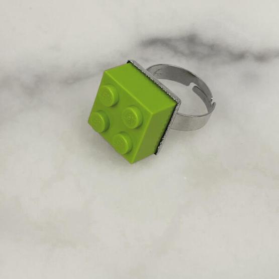 LEGO ring 4 licht groen