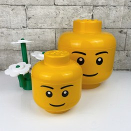 Lego storagehead boy small