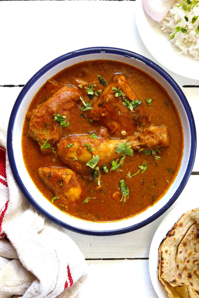 Indian Chicken Curry Recipe (Murgh Curry) - Fun FOOD Frolic