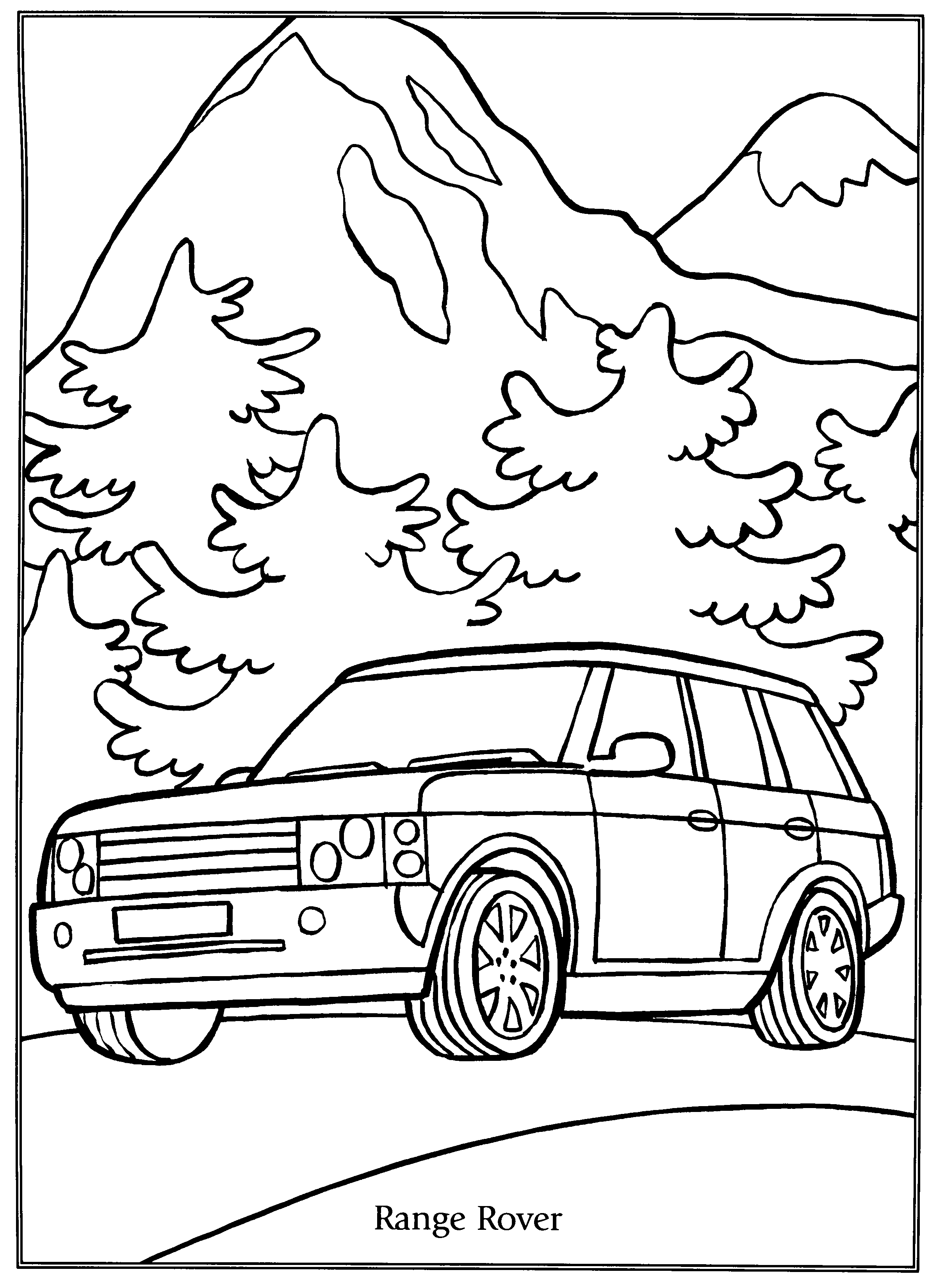 Coloriage Autos