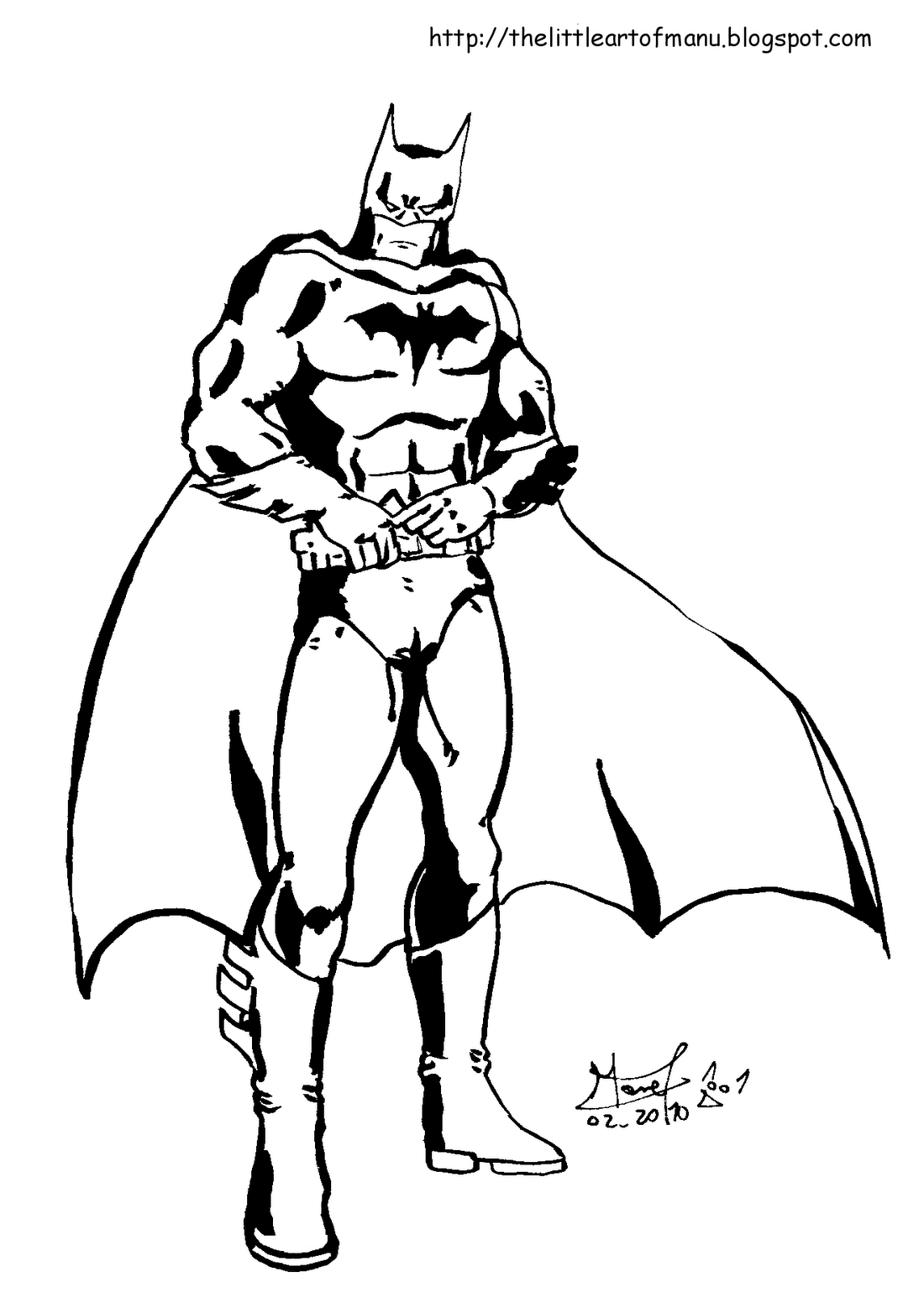 man in bat costume