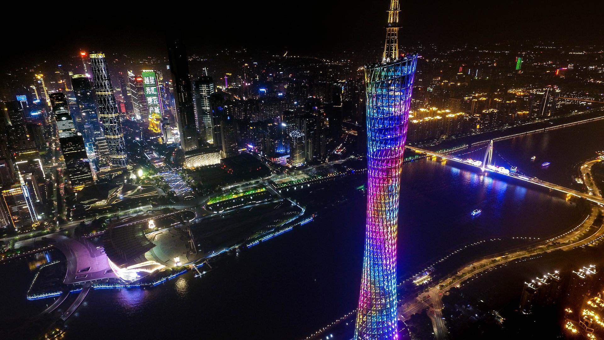 広州旅行で覚えておくと便利な中国語の地名の読み方20選!広州タワー