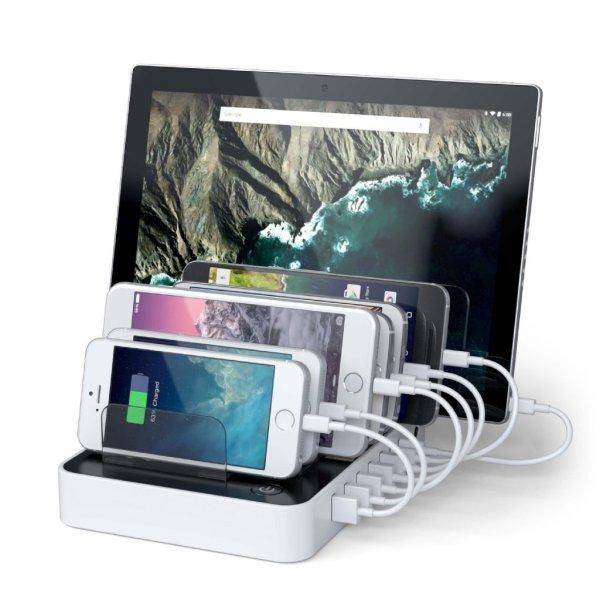 Satechi 7 portars USB Laddare