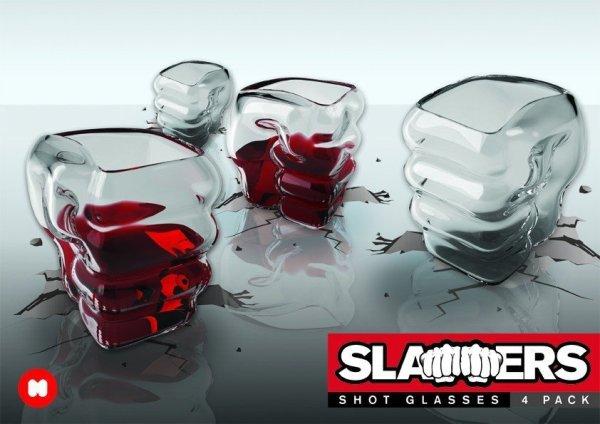 Slammers Shot Glas