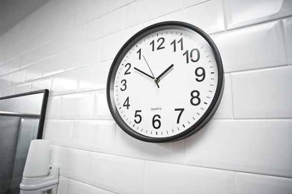 Bakåtgående Klocka