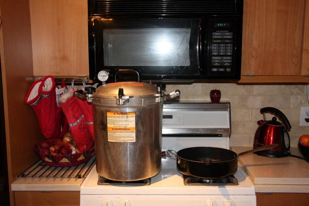 kitchen steralization