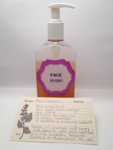 DIY Face Wash used for my oily acne prone skin and has reduced my breakouts and pimples disappear faster.