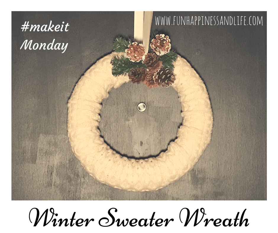 Winter Sweater Wreath