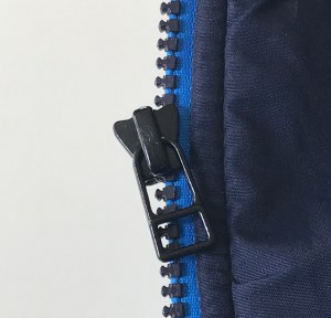This is an easy way to fix a zipper without sewing. Used when the slider has broken off.