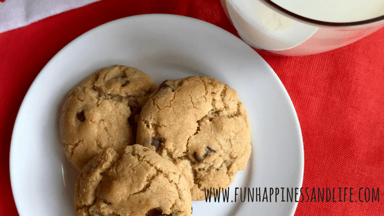 The best chocolate chip cookies are crunchy on the outside and soft in the middle. Easy to make and even easier to eat!