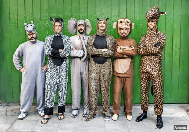 Disfraces para grupo de animales
