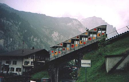 Standseilbahn Lauterbrunnen-Grütschalp