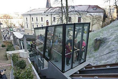 Ljubljana funicular from Siol.net