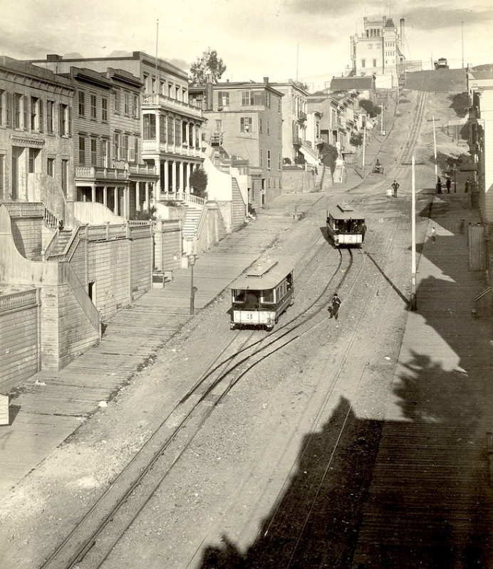 San Francisco - Telegraph Hill (1884-1886)