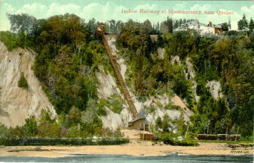 (CA) Montmorency Falls Incline (Quebec)