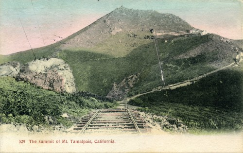 West Peak Radio Station Incline