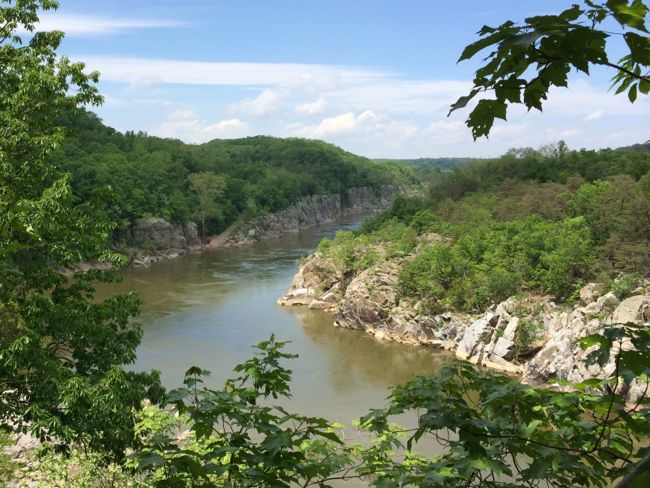 Potomac view from Cow Hoof Rock, Great Falls Park
