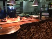 Monks BBQ counter