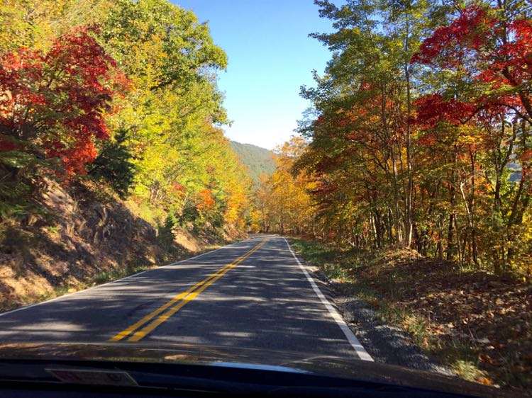 Blue Ridge Parkway Southern Shenandoah Valley Virginia