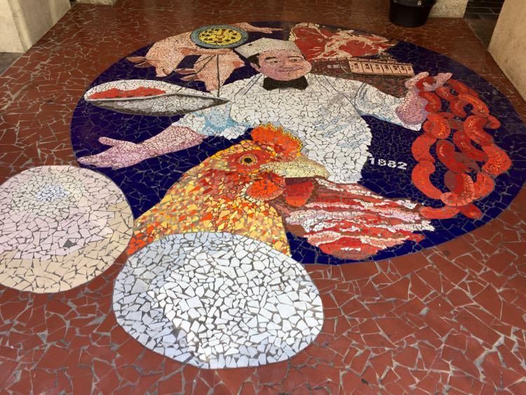 Market Street mosaic Roanoke Virginia