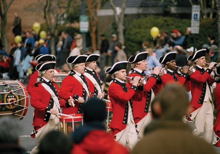 George Washington Birthday Parade, Photo credit: Tisara Photography