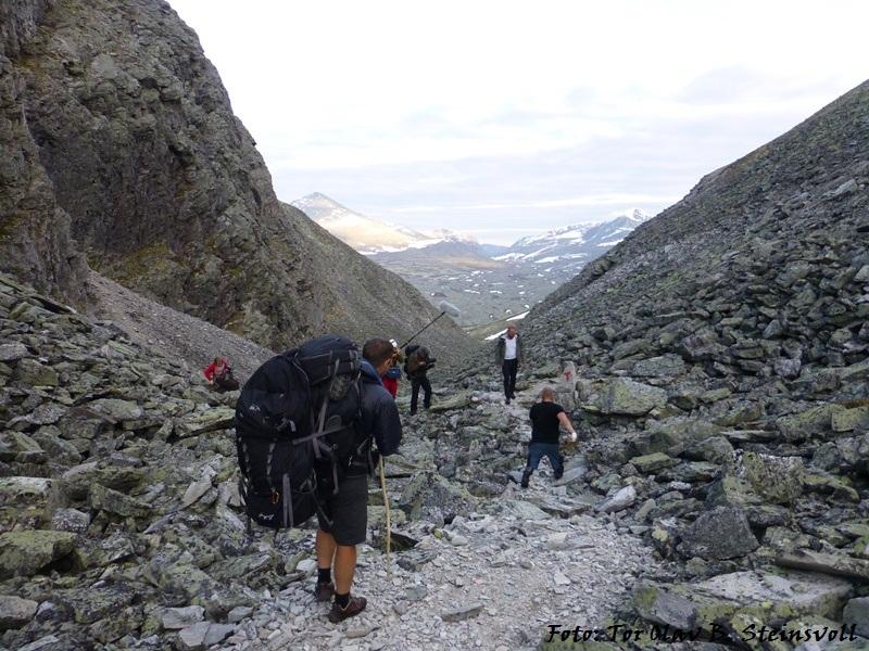Rondane 2012 – Dag 5, Grimsdalshytta – Øvre Dørålseter