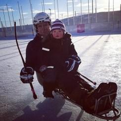 Viktoria kjelkehockey