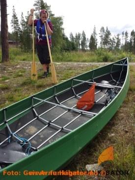 En tidligere tur på Lesjaskogsvatnet