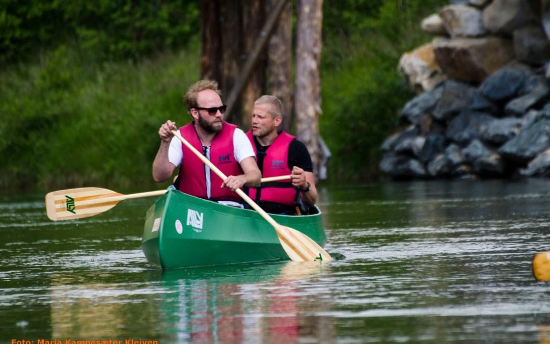 Planlegging av kanotur i sommer
