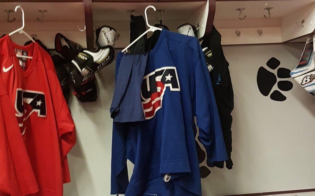 Kjelkehockeylandslaget i USA. NORSA!