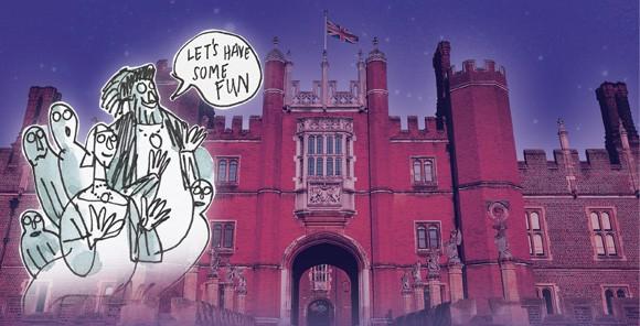 Family Ghost Tours At Hampton Court Palace Fun Kids