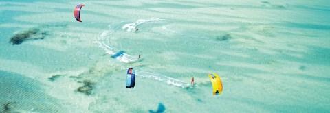 Kitesurfing na Zanzibarze
