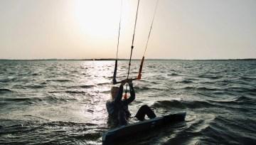 kitesurfing start z wody 4 błędy