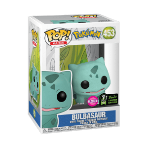 POP GAMES POKEMON – BULBASAUR (Flocked/ECCC 2020) VF [453]